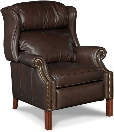 light brown leather recliner finley light brown leather recliner from hooker coleman