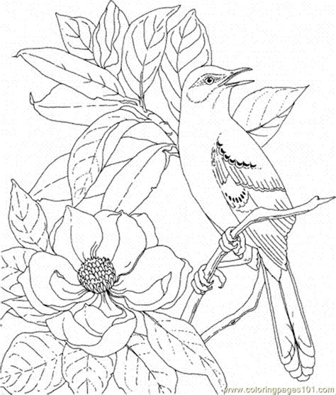 Galerry free nature coloring pages for adults