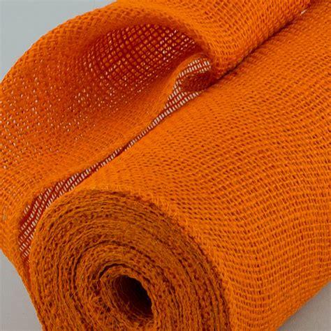 10 yards burlap roll 14 quot burlap fabric roll orange 10 yards jrh14 21