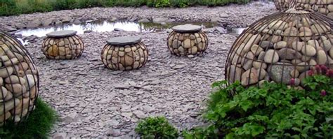 Garden Shale Rock Garden Gabions