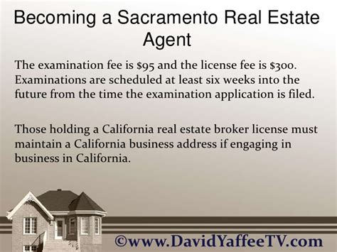 becoming a realtor becoming a sacramento real estate agent