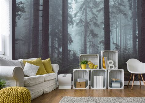 Forest Room by Fabulous Impact Wall From Eazywallz Transforms Your