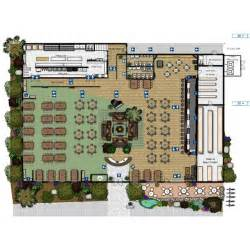 Small Restaurant Floor Plan by Open Kitchen Restaurant Layout Afreakatheart