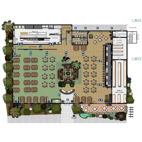 restuarant floor plan open kitchen restaurant layout afreakatheart