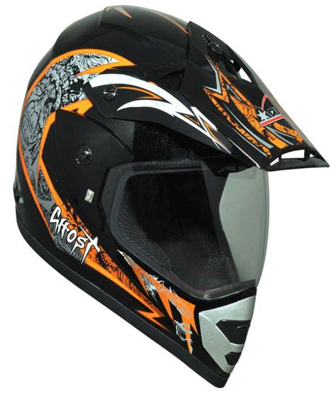 black motocross helmets aaron black and orange motocross helmets buy aaron black