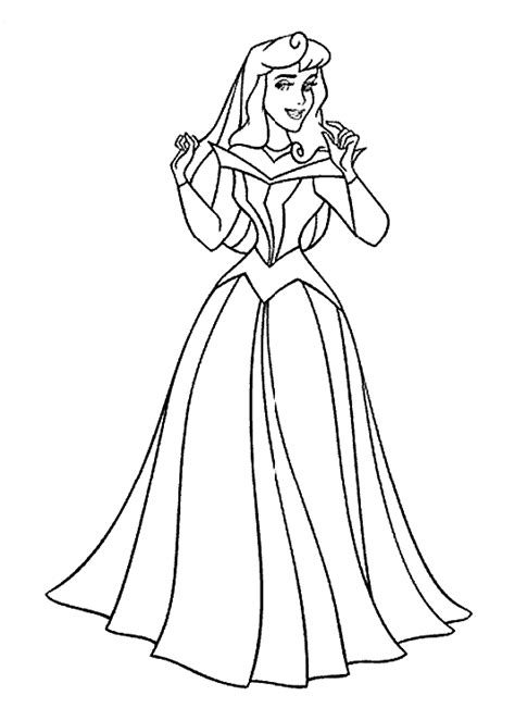 coloring page sleeping beauty coloring pages 10