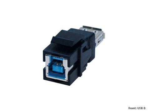 Modul Usb Charger bachmann custom modul 1 x usb 3 0 b a keystone 917 401