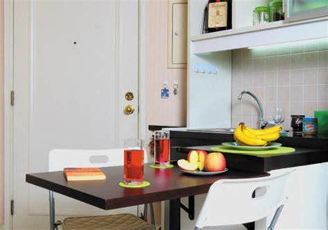 Meja Lipat Makan mensiasati lahan dapur yang sempit hiasanrumah