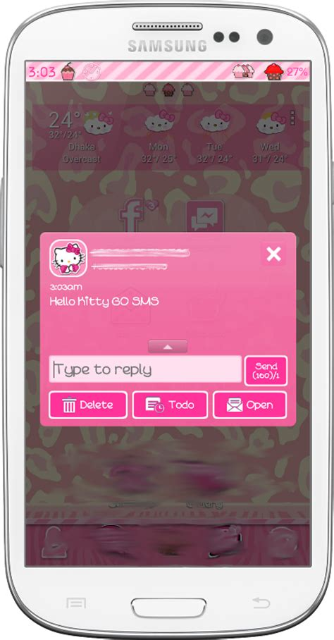 themes samsung hello kitty pretty droid themes hello kitty go sms theme