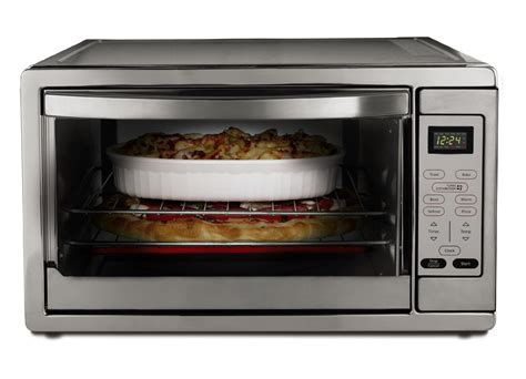 Large Countertop Convection Oven by Oster Large Capacity Countertop 6 Slice Digital