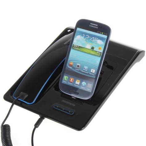 padmate handheld hands  bluetooth desktop telephone