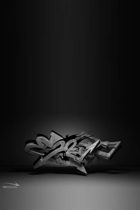 graffiti iphone wallpaper hd 3d graffiti wallpaper hd no4 by aribfx on deviantart