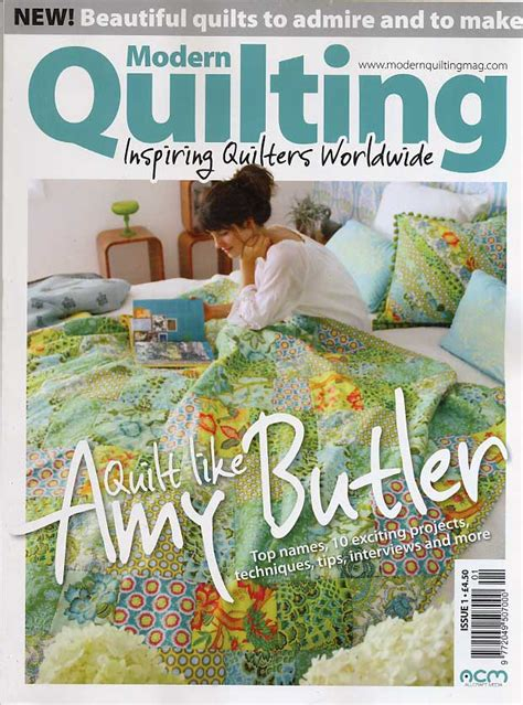 Modern Quilt Magazine by Modern Quilting Magazine Premier Issue 1 Quilt Like