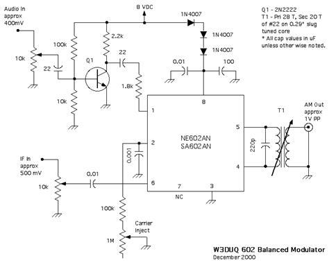 linear integrated circuit am modulator 28 images ne602 balanced modulator flashwebhost