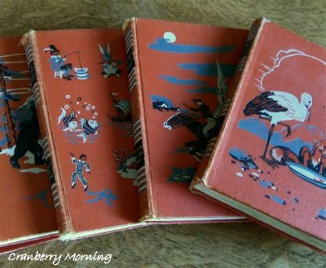 cranberry morning vintage childcraft books