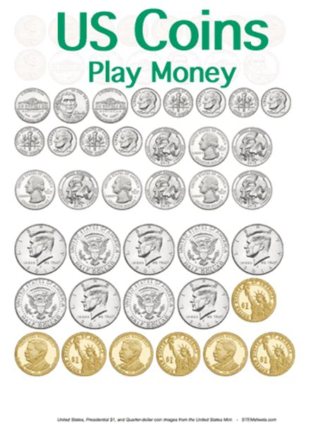 printable fake money worksheets customizable and printable play money united states