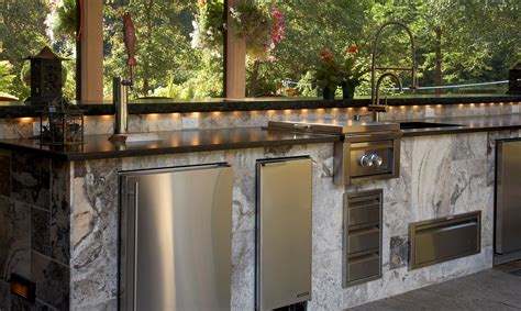 modular outdoor kitchens stone modular rustic modular outdoor kitchen design layout showcasing