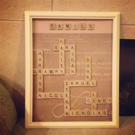 best 20 scrabble tile crafts ideas on pinterest