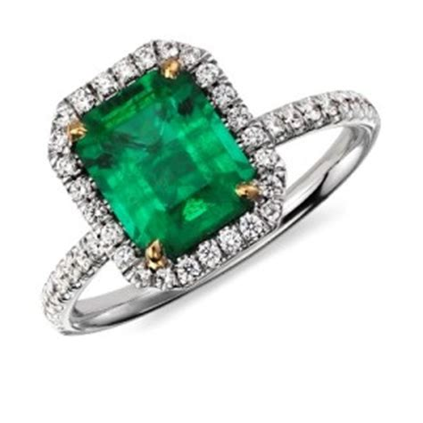 emerald engagement rings green brilliance
