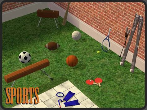 sims  objects hobbies sports  sims