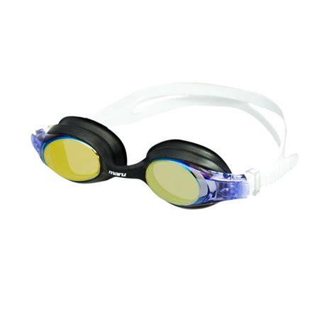 junior mirrored swimming goggles maru mirrored junior swimming goggles lilac white