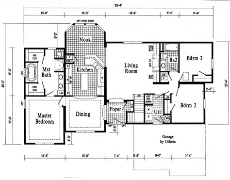 ranch floorplans modular home floor plans houses flooring picture ideas