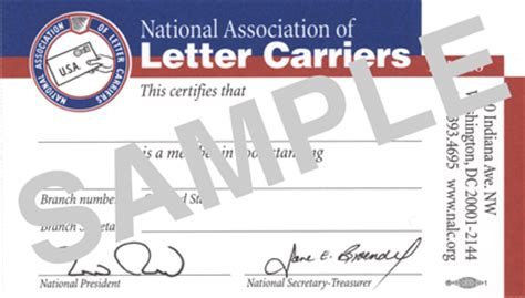 memeber id card letter template nalc membership and dues national association of letter