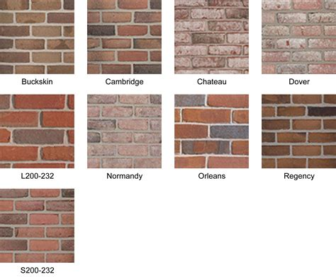 exceptional colors of brick 1 boral bricks see normandy and dover los altos