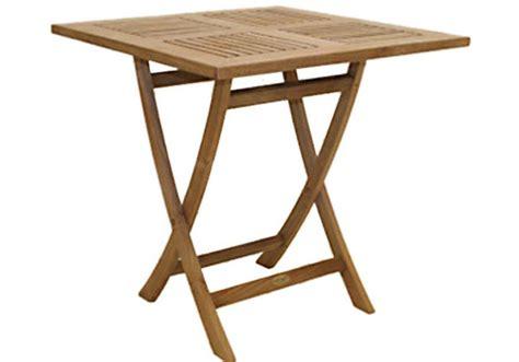 large square folding table 30 quot square teak sailor table teak furniture outlet