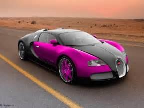 Bugatti Veyron Supercar Bugatti Veyron Sport Pink Wallpaper