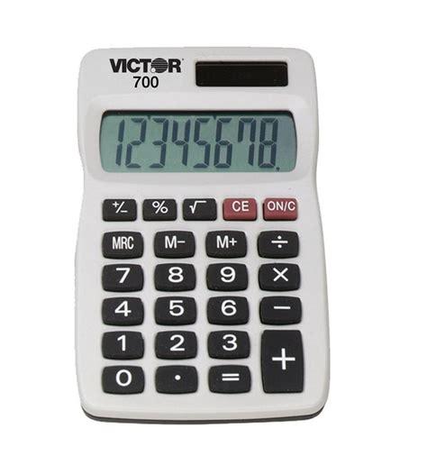 Calculator Function | victor 700 basic four function solar calculator set of