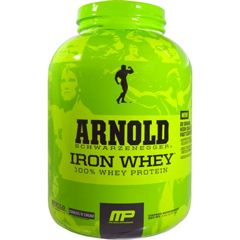 Arnold Whey Arnold Iron Whey 100 Whey Protein Cookies N 5