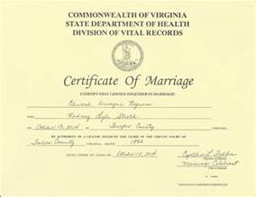 Marriage License Marriage License Vs Certificate Weddingbee