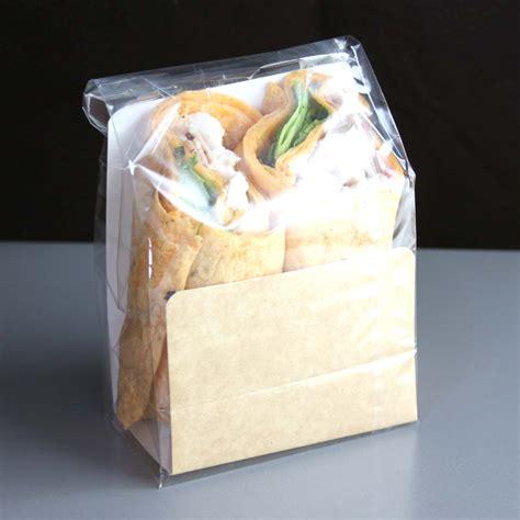 Packaging Wrap grab amd go tortilla wrap bag kits