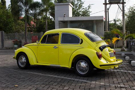 old volkswagen yellow yellow vw beetle 1303 banda aceh indonesia with air con