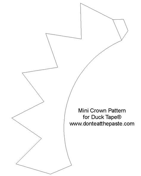 printable heart crown don t eat the paste crown коробка pinterest sun