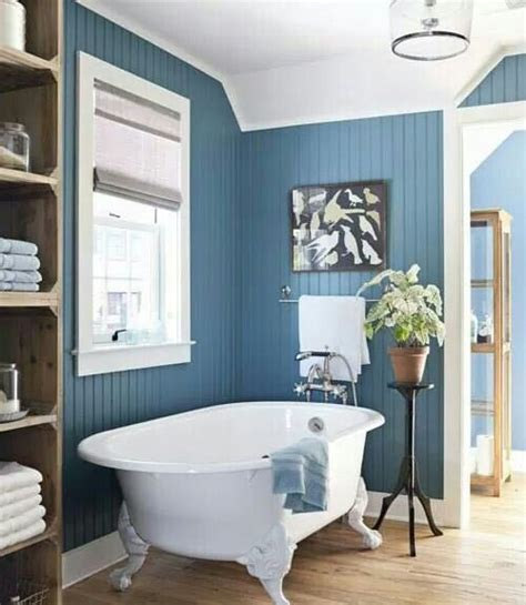 Country Bathroom Color Schemes by Beautiful Blue Beadboard Bathroom Bathroom Remodel