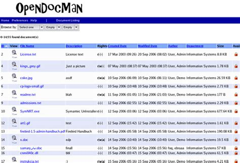 Document Management System Template 10 best free web based file management scripts written in