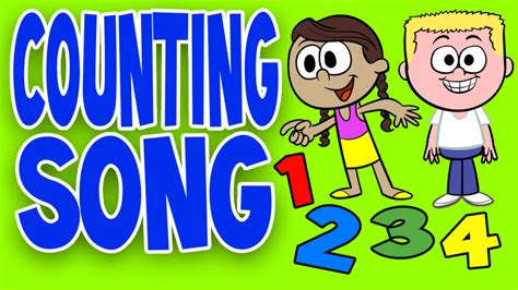 counting song counting song for children counting together with lyrics