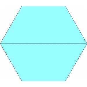 10 half hexagon template 10 inch half hexagon quilt template