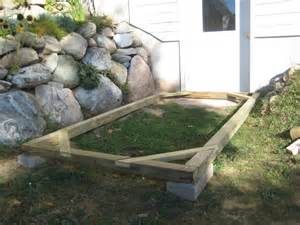 Backyard Shed Foundation by My Homemade Greenhouse Thinman S Blog