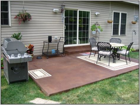 Paint Concrete Patio Diy   Patios : Home Design Ideas #