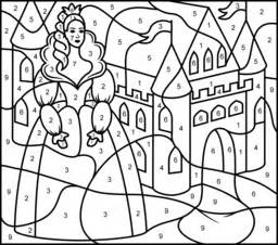 princesses coloring pages