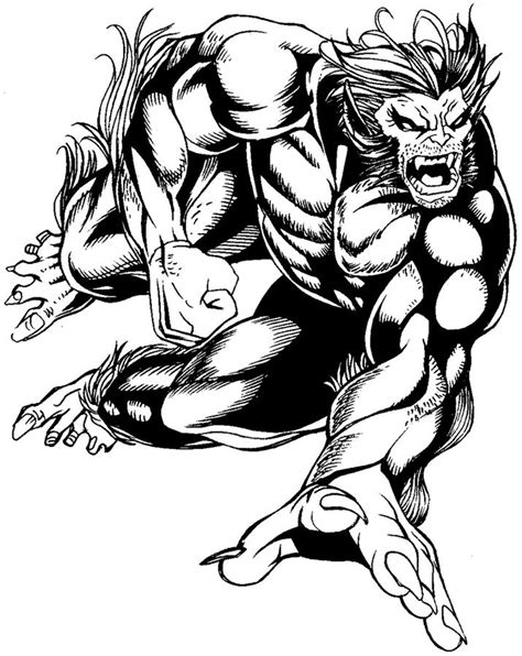 marvel beast coloring pages disegni da colorare bestia stabile gratuito per