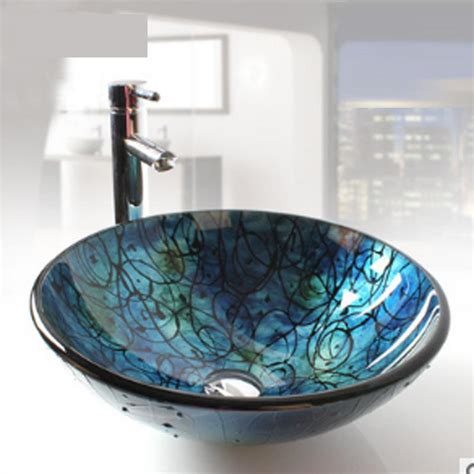 Buy Bathroom Sinks by Aliexpress Buy Bathroom Glass Vessel Vanity Sink