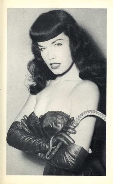 Bettie Backroom by Bombshell Bettie Page History S Original Pinup Model