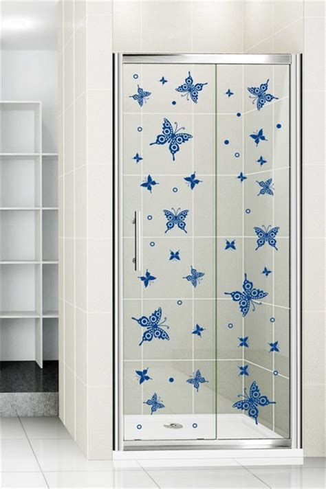 Shower Door Decals by Shower Door Vinyl Decal 35 Eclectic Wall Decals By