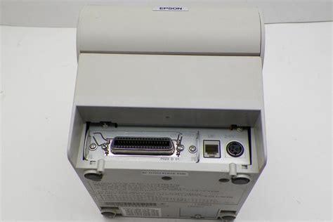 Thermal Tmt88iv 1 epson tm t88iv pos thermal receipt printer m129h parallel w power supply ebay