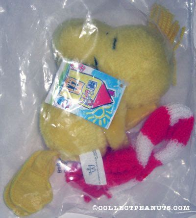 Mcd Snoopy And Brown Woodstock peanuts mcdonald s plush dolls collectpeanuts
