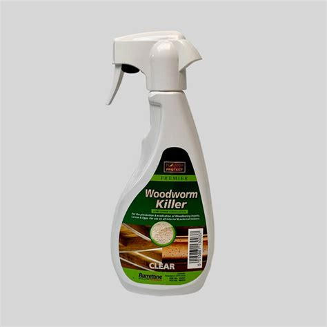 woodworm fluid spray diy pest control